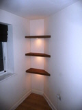home shelving installations